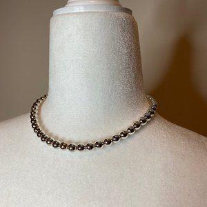 """Lauren Ralph Lauren 16"""" Silver-Tone Necklace"""